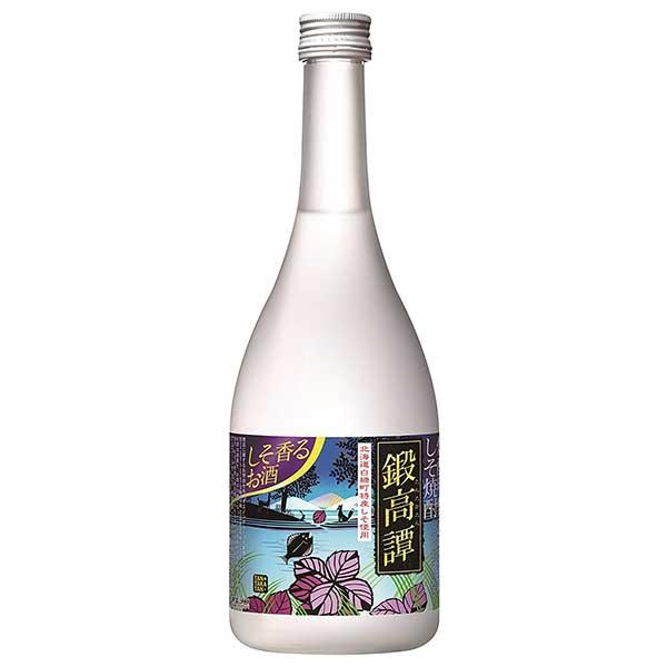 焼酎 distilled spirit sake 御中元 御歳暮 内祝い 合同 しそ焼酎 鍛高譚 20度 [瓶] 720ml x 12本[ケース販売]送料無料(本州のみ)[合同酒精 オノエン 焼酎甲類乙類混和 日本 116410]【ギフト不可】