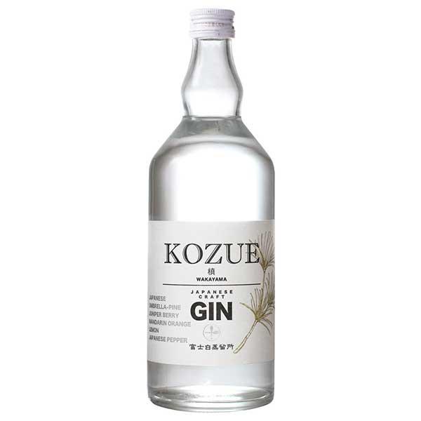 【10%】槙 -KOZUE- 47度 [瓶] 700ml x 6本[ケース販売][中野BC ジン 日本 和歌山]【ギフト不可】