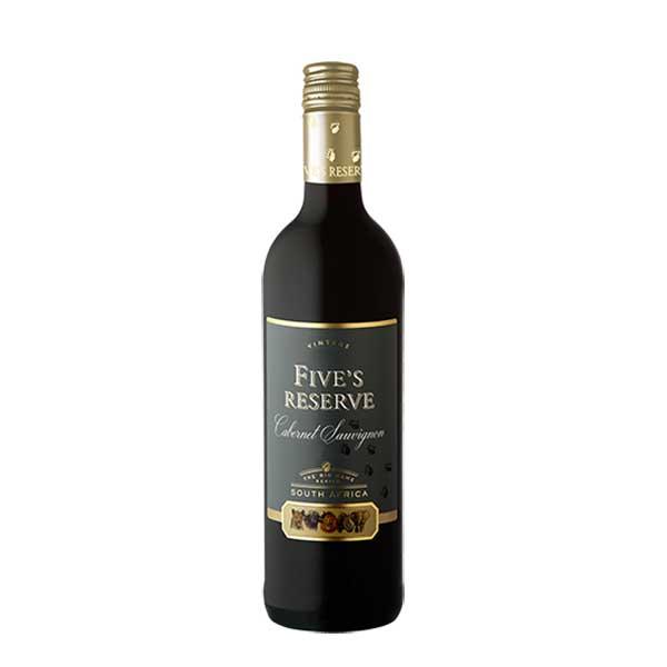赤ワイン wine 母の日 父の日 御中元 御歳暮 内祝い 信託 在庫一掃売り切りセール 10% ヴァン ロヴェレン ファイブズ リザーブ FV-4C18 辛口 本州のみ 750ml ソーヴィニョン ミディアムボディ WIS 南アフリカ 送料無料 カベルネ ロバートソン 西ケープ州