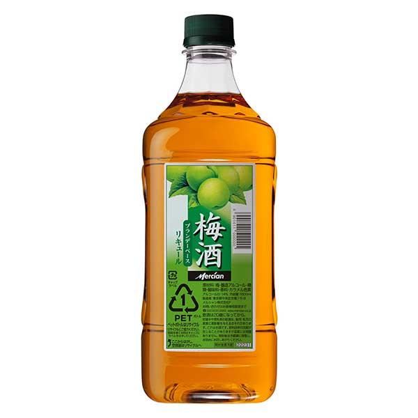 メルシャン 梅酒 [ペット] 1.8L 1800ml x 6本[ケース販売][メルシャン/日本/神奈川県/リキュール/梅酒/416698]