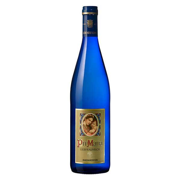白ワイン wine 御中元 御歳暮 内祝い グスタフ アドルフ シュミット プリマリア 新着 リープフラウミルヒ モーゼル ドイツ メルシャン 409527 本州のみ 送料無料 Q.b.A 750ml やや甘口 大規模セール