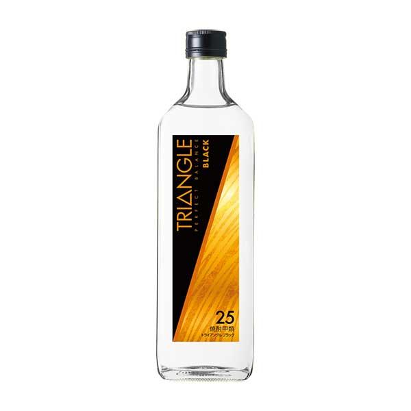 サッポロ トライアングル ブラック 25度 [瓶] 700ml x 12本[ケース販売] 送料無料※(本州のみ) [サッポロ/焼酎/日本/LU43]