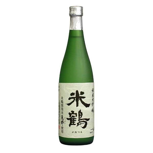 米鶴 純米大吟醸 亀粋 720ml x 6本 [ケース販売] [米鶴酒造/山形県/OKN]【ギフト不可】