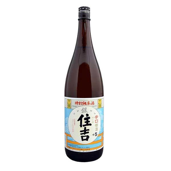 日本酒 japanese sake 御中元 御歳暮 内祝い 10% 住吉 樽平酒造 1.8L 割り引き 至上 山形県 特別純米 銀 OKN 1800ml