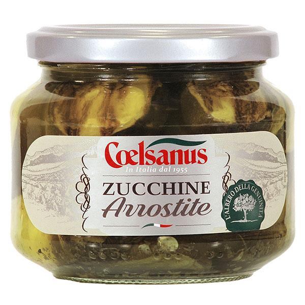 野菜 瓶詰 Vegetables 再再販 チェルサヌス ズッキーニ アッロスティーティ 瓶 イタリア 005114 人気ブレゼント! 6個 330g モンテ x ケース販売