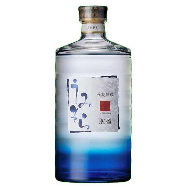 泡盛 awamori 母の日 父の日 御中元 御歳暮 内祝い 長期熟成泡盛 うみそら 返品不可 ケース販売 瓶 出群 25度 40425 x 日本 6本 アサヒビール 700ml