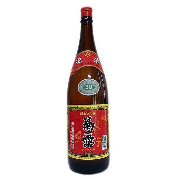 菊之露 30度 1.8L 1800ml x 6本 [ケース販売][菊之露酒造 / 泡盛]【お中元】