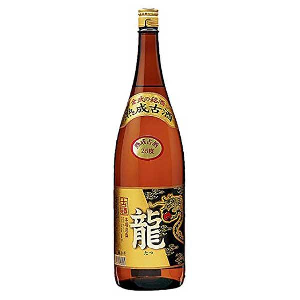 金武 龍 ゴールド 古酒 25度 1.8L 1800ml x 6本 [ケース販売][金武酒造所 / 泡盛]