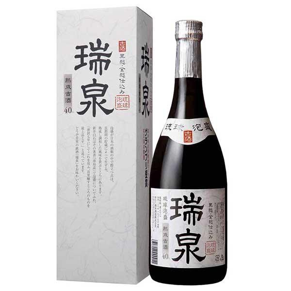 瑞泉 熟成 古酒 40度 720ml x 12本 [ケース販売][瑞泉酒造 / 泡盛]