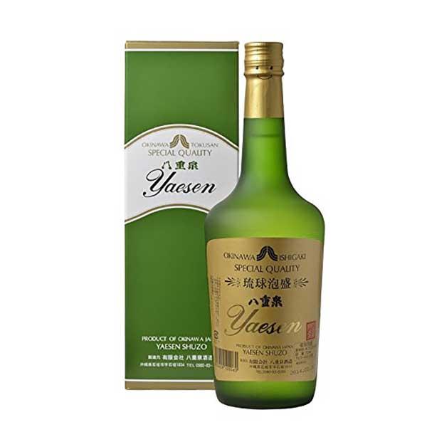 八重泉 グリーン(樽酒) 43度 720ml x 12本 [ケース販売][八重泉 / 泡盛]