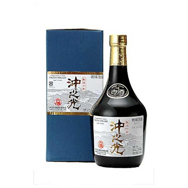 沖之光 10年 古酒 35度 720ml x 12本 [ケース販売][沖の光酒造 / 泡盛]