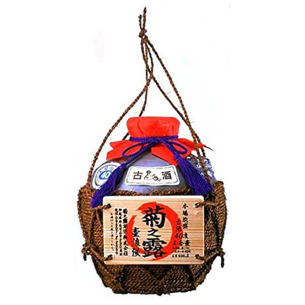 菊之露 五合壷 40度 900ml x 6本 [ケース販売][菊之露酒造 / 泡盛] 送料無料※(北海道・四国・九州・沖縄別途送料)