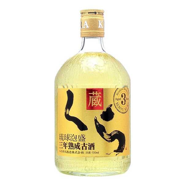 ヘリオス くら 古酒 25度 720ml x 12本 [ケース販売][ヘリオス酒造 / 泡盛]【お中元】【gift】