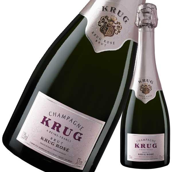 シャンパン Champagne 御中元 御歳暮 1年保証 内祝い 10% 正規品 ロゼ 375ml ハーフ クリュッグ MHD 完売