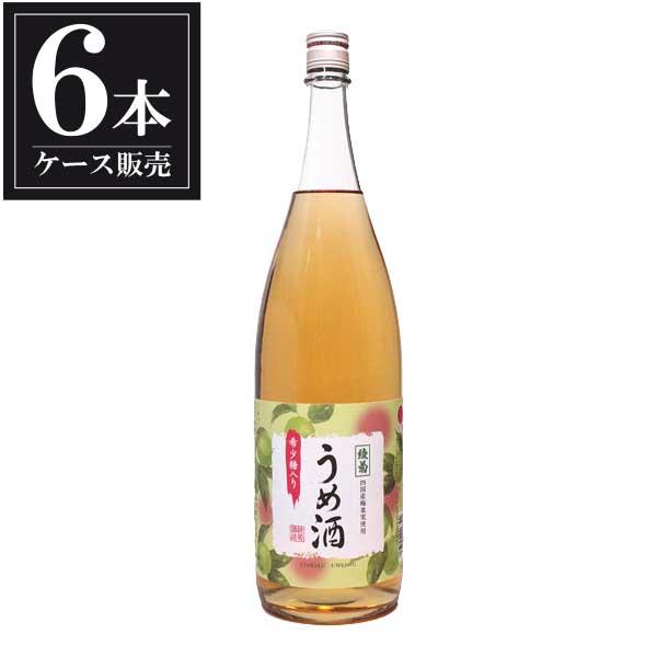 綾菊 うめ酒 1.8L 1800ml x 6本 [ケース販売] [綾菊酒造/香川県 ]