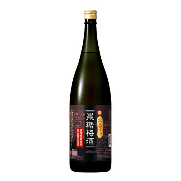 寶 泡盛仕込黒糖梅酒 14度 [瓶] 1.8L 1800ml x 6本 [ケース販売][宝酒造/日本/三重県]