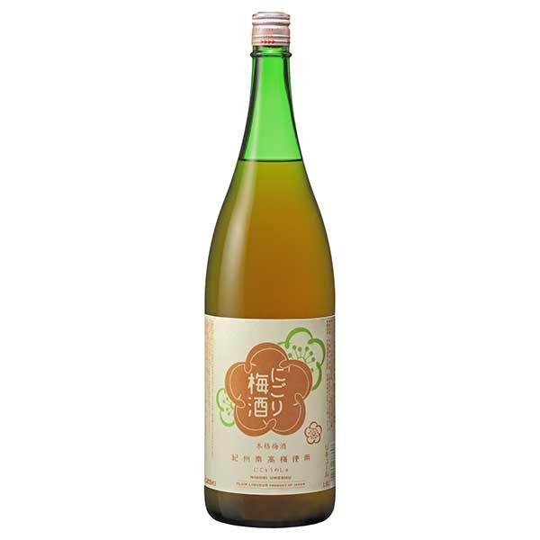 大関 にごり梅酒 13度 [瓶] 1.8L 1800ml x 6本 [ケース販売] [大関/0037802]【お中元】