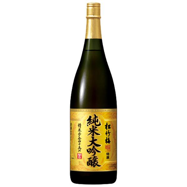 特撰 松竹梅 純米大吟醸 15度 [瓶] 1.8L 1800ml x 6本 [ケース販売][宝酒造/日本/三重県]