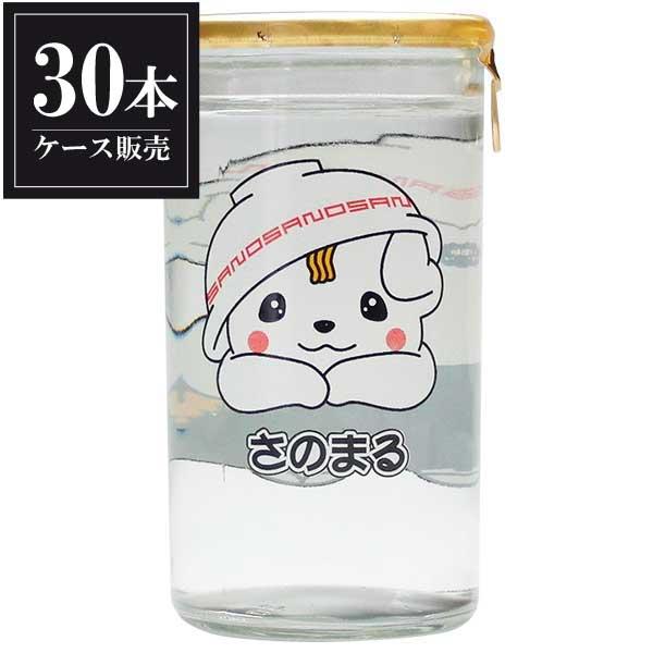 開華 特別純米 さのまるカップ 180ml x 30本 [ケース販売] [第一酒造/栃木県/岡永]