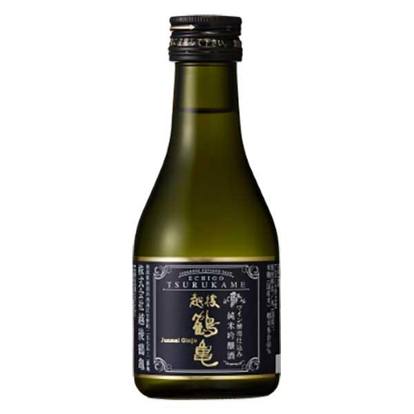 日本酒 japanese sake 御中元 御歳暮 内祝い 決算セール開催中 超歓迎された ポイント5倍 越後鶴亀 24本 x 180ml ワイン酵母仕込み純米吟醸 ケース販売 爆売りセール開催中 新潟県 OKN ギフト不可