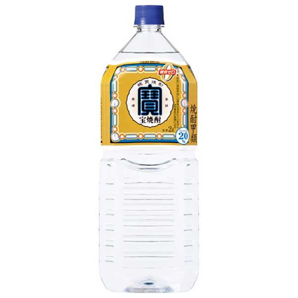焼酎 distilled spirit sake 御中元 御歳暮 内祝い 宝焼酎 20度 ペット x 6本 日本 送料無料 2L 販売 2000ml 本州のみ 千葉県 ケース販売 宝酒造 超定番