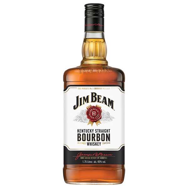ジム ビーム 40度 [瓶] 1.75L 1750ml x 6本[ケース販売][ウイスキー/40度/アメリカ/サントリー]【キャッシュレス 還元】