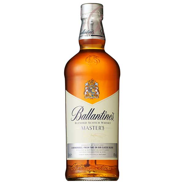 バランタイン マスターズ 40度 [瓶] 700ml x 6本[ケース販売][ウイスキー/40度/イギリス/サントリー]【キャッシュレス 還元】