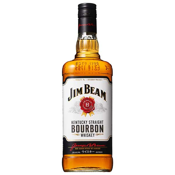 ジム ビーム 40度 [瓶] 1L 1000ml x 12本[ケース販売][ウイスキー/40度/アメリカ/サントリー]【母の日】