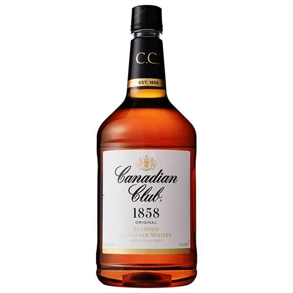 ウイスキー whisky 母の日 父の日 御中元 御歳暮 内祝い カナディアンクラブ 40度 [PET] 1.75L 1750ml x 6本[ケース販売] 送料無料(本州のみ)[ウイスキー 40度 カナダ サントリー]