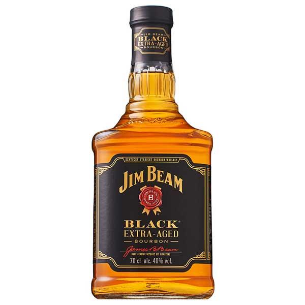 ジム ビーム ブラック 40度 [瓶] 700ml x 12本[ケース販売] 送料無料※(北海道 四国 九州 沖縄別途送料)[ウイスキー/40度/アメリカ/サントリー]【キャッシュレス 還元】