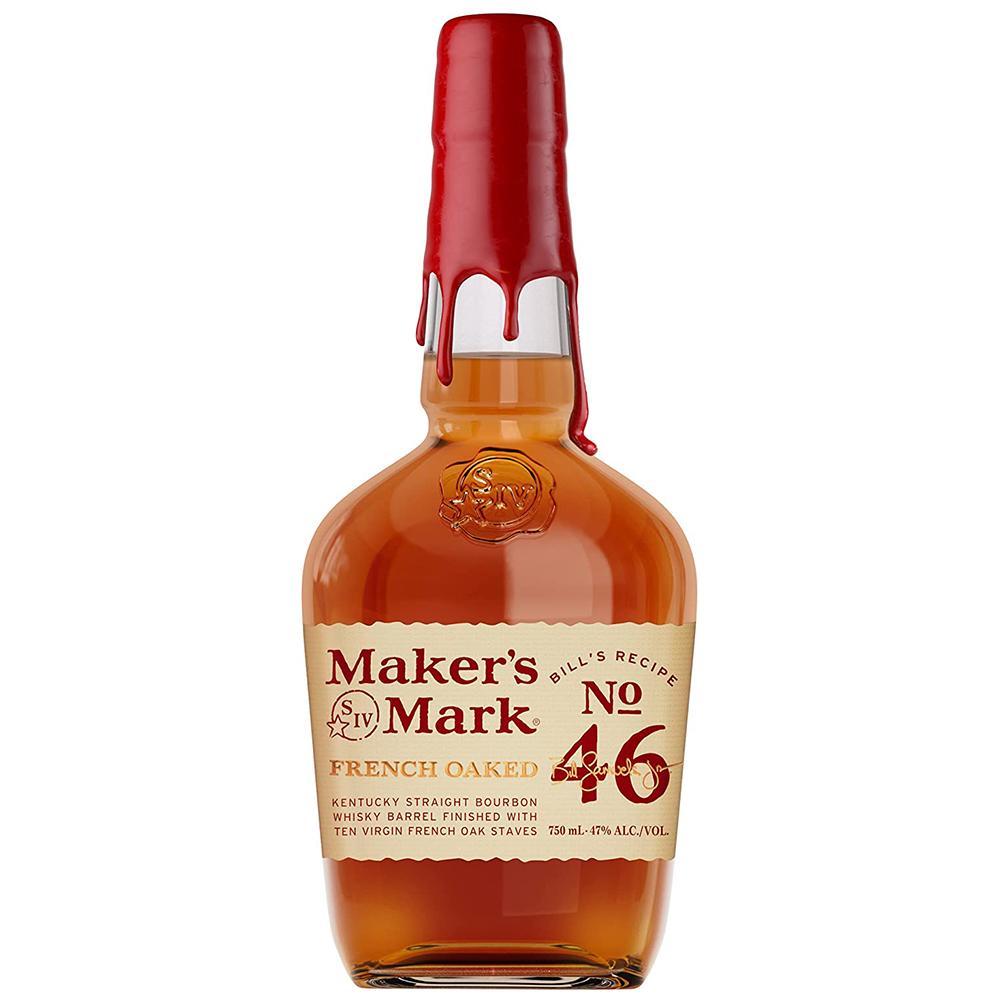 メーカーズマーク 46 47度 [瓶] 750ml x 6本[ケース販売][ウイスキー/47度/アメリカ/サントリー]【母の日】