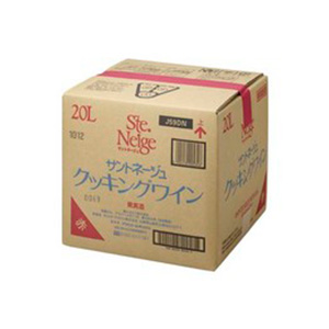 サントネージュ クッキングワイン 赤 20L 20000ml バッグ イン ボックス [日本/赤ワイン] 送料無料※(北海道・四国・九州・沖縄別途送料)