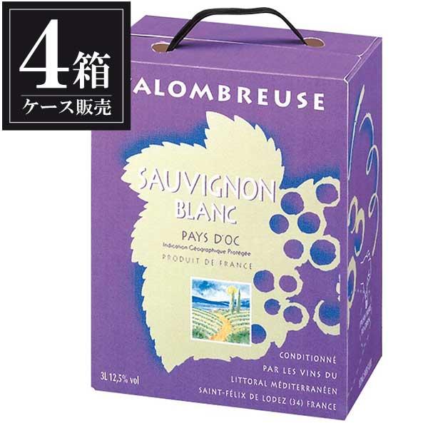 ジャンジャン ソーヴィニヨン ブラン バッグ イン ボックス 3L 3000ml x 4本 [ケース販売] [フランス/白ワイン]
