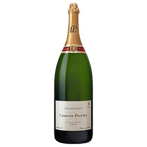 シャンパン Champagne 御中元 御歳暮 内祝い 2020 決算セール開催中 別倉庫からの配送 ポイント5倍 ローラン ペリエ ブリュット 辛口 シャンパーニュ フランス サルマナザール 白ワイン L サントリー P 9000ml 9L