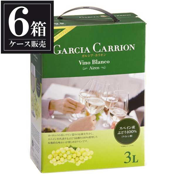 ガルシア カリオン アイレン 3L 3000ml x 6本 ボックスワイン [ケース販売] [スペイン/白ワイン]
