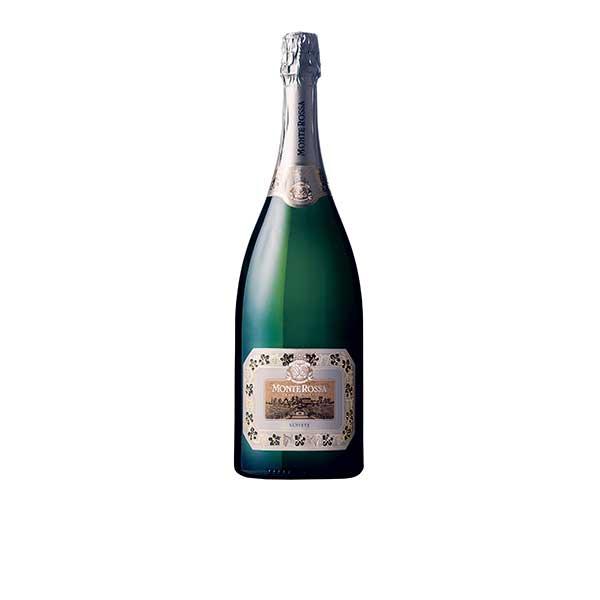 モンテロッサ フランチャコルタ サテン ブリュ 1.5L 1500ml x 3本 [ケース販売] [モンテ/イタリア/ロンバルディア/スパークリングワイン/006454]