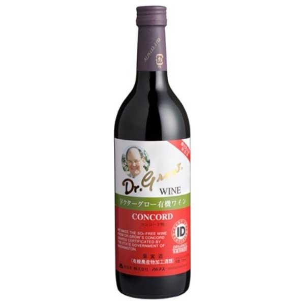 アルプス ドクターグロー 赤 720ml x 12本[ケース販売] 送料無料※(本州のみ) [岡永/アルプスワイン/長野県/赤ワイン]【母の日】