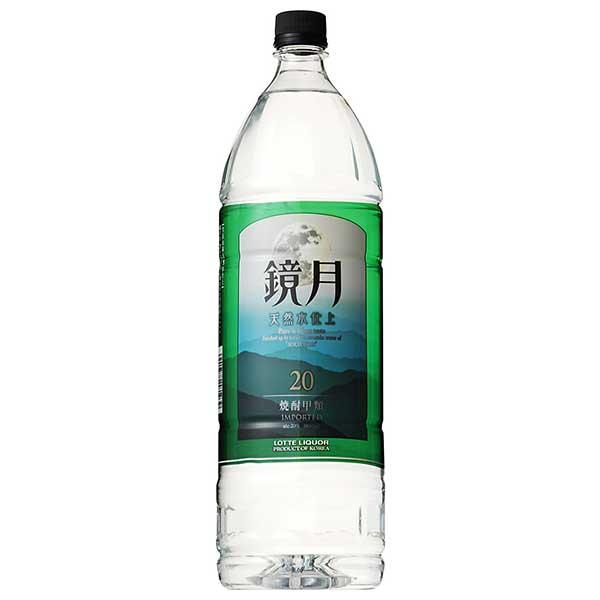 焼酎 distilled spirit sake 母の日 父の日 御中元 御歳暮 内祝い サントリー 鏡月 20度 韓国 PET 6本 本州のみ 20GZ18 当店限定販売 1.8L ケース販売 1800ml 舗 送料無料 x 甲類焼酎