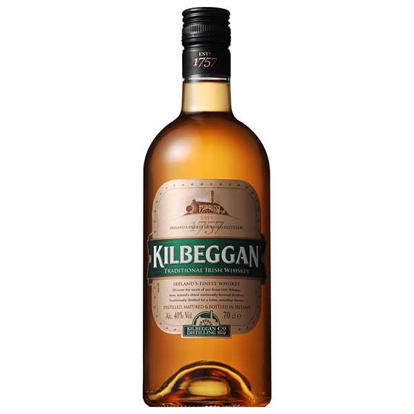 キルベガン 40度 [瓶] 700ml x 6本[ケース販売] 送料無料※(本州のみ)[ウイスキー/40度/アイルランド/サントリー]