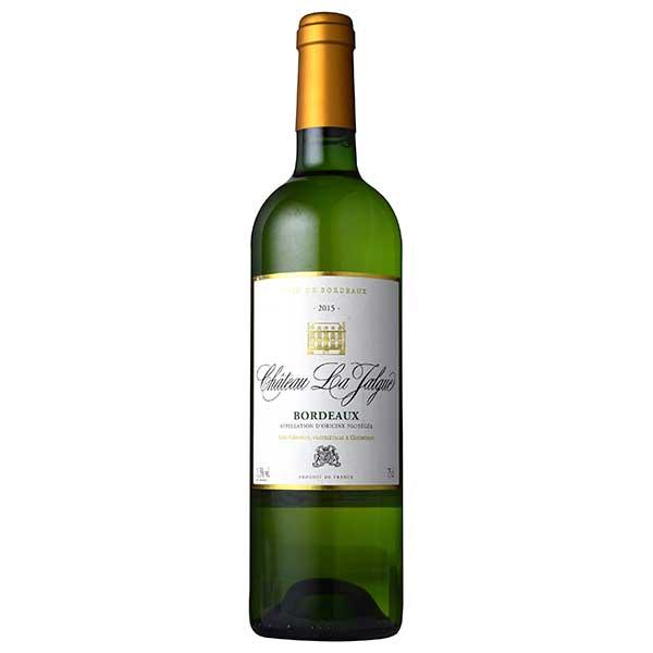 白ワイン wine 母の日 父の日 御中元 御歳暮 内祝い シャトー ラ 新商品 ジャルグ 品質検査済 659814 ボルドー MT 白 750ml 本州のみ 辛口 送料無料 フランス