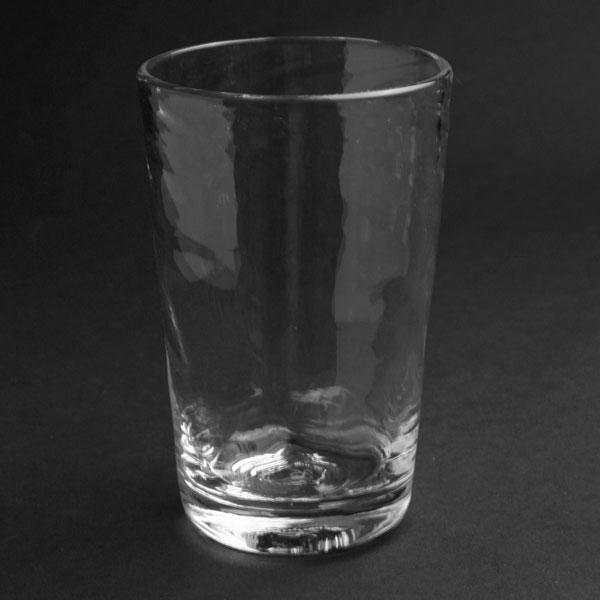 バースデー 記念日 ギフト 贈物 お勧め 通販 モールが優しく手になじみます ガラス:タテモールタンブラー 福地ガラス工房《コップ 7.0cm》 230ml 新色 グラス