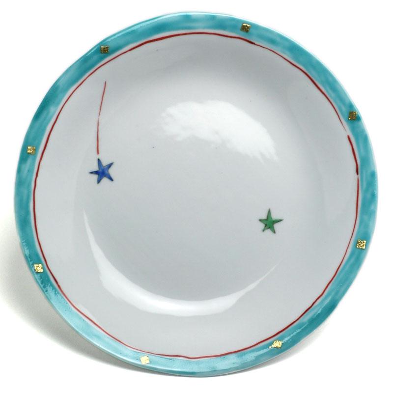 《定期販売》デザート皿 タタラ丸皿 予約販売 24.5cm》 古川章蔵《大皿 予約販売品
