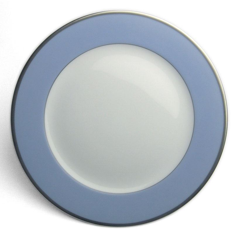 トワエモア ブルー 23cmプレート・大倉陶園《大皿・23.0cm》