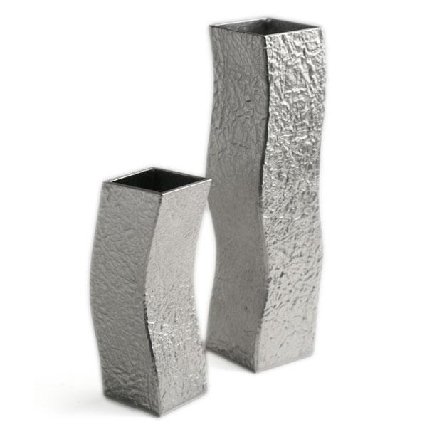 錫器:錫花生・流・2個1組・ゆり工房《花器・花入れ》