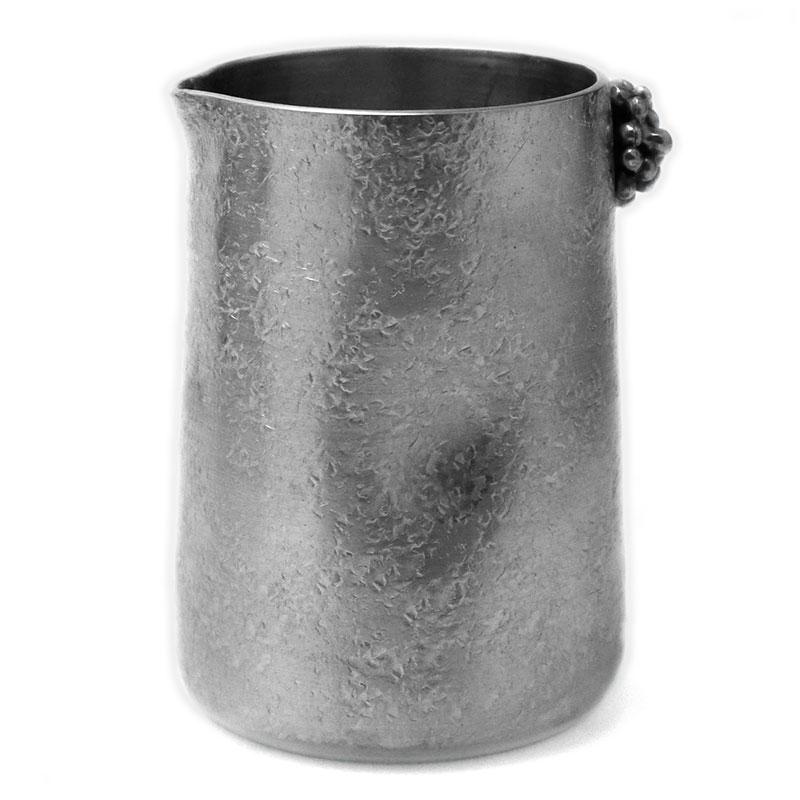 とってもキュート 錫器 予約 紅茶用ミルクピッチャー ◆セール特価品◆ 70ml》 ゆり工房《ピッチャー ヌーボー