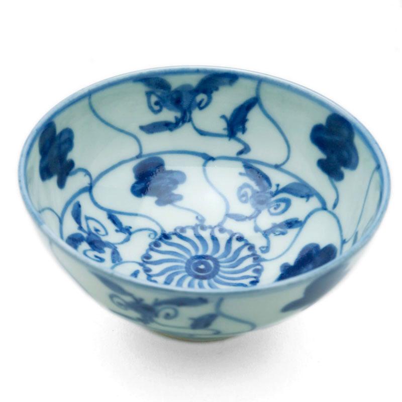安南手飯碗・小・土山敬司《飯碗・ご飯茶碗》