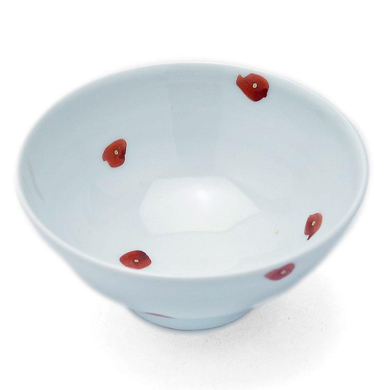 シンプルだけど個性的 金点飯碗 古川章蔵《飯碗 年中無休 メーカー公式 ご飯茶碗 11.5cm》