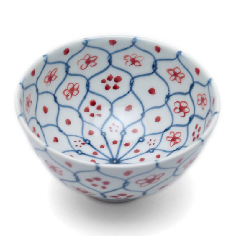 何げなくて美しい 花網茶碗 小 土山敬司《飯碗 新作からSALEアイテム等お得な商品満載 10.8cm》 ご飯茶碗 安全