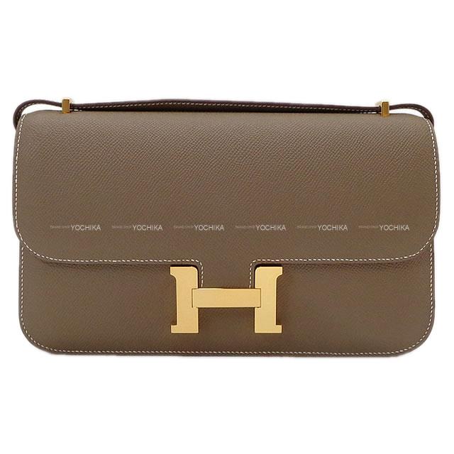 【ご褒美に★】HERMES エルメス ショルダーバッグ コンスタンス 3 エラン スペシャルオーダー エトープ (エトゥープ) エプソン ゴールド金具 新品 (HERMES Shoulder bag Constance 3 Elan Personal Order Etoupe Epsom GHW[Brand New][Authentic])【あす楽対応】#yochika
