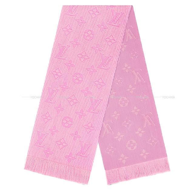 【ご褒美に★】【値下げ!】LOUIS VUITTON ルイ・ヴィトン マフラー エシャルプ・ロゴマニア ピンク M73659 新品 (LOUIS VUITTON Echarpe Logomania Muffler Pink M73659[Brand new][Authentic])